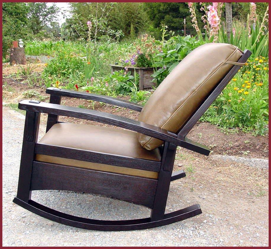 Groovy Voorhees Craftsman Mission Oak Furniture Bow Arm Gamerscity Chair Design For Home Gamerscityorg