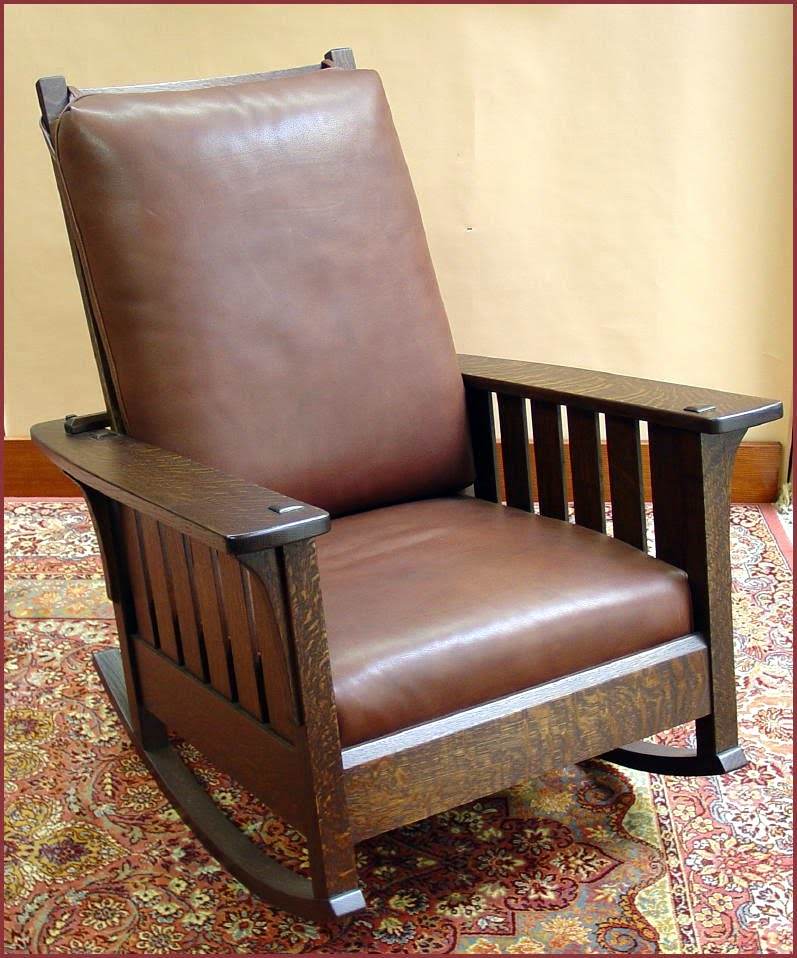 Voorhees Craftsman Mission Oak Furniture