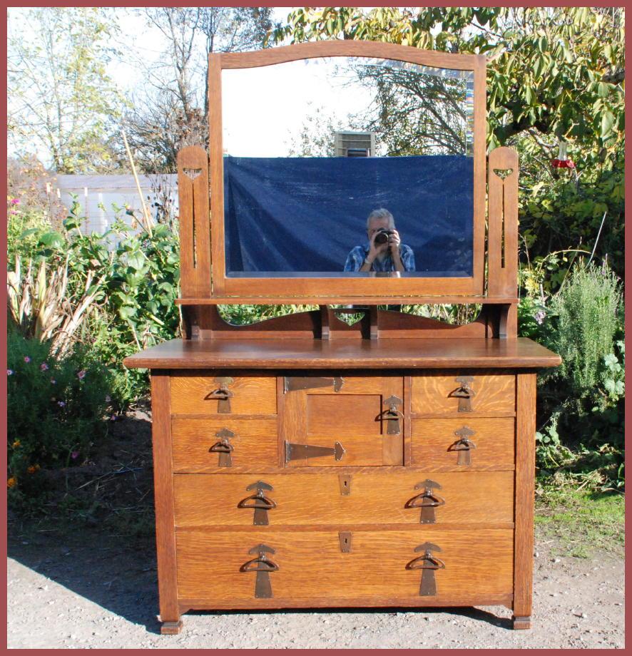 Voorhees Craftsman Mission Oak Furniture Antique Arts