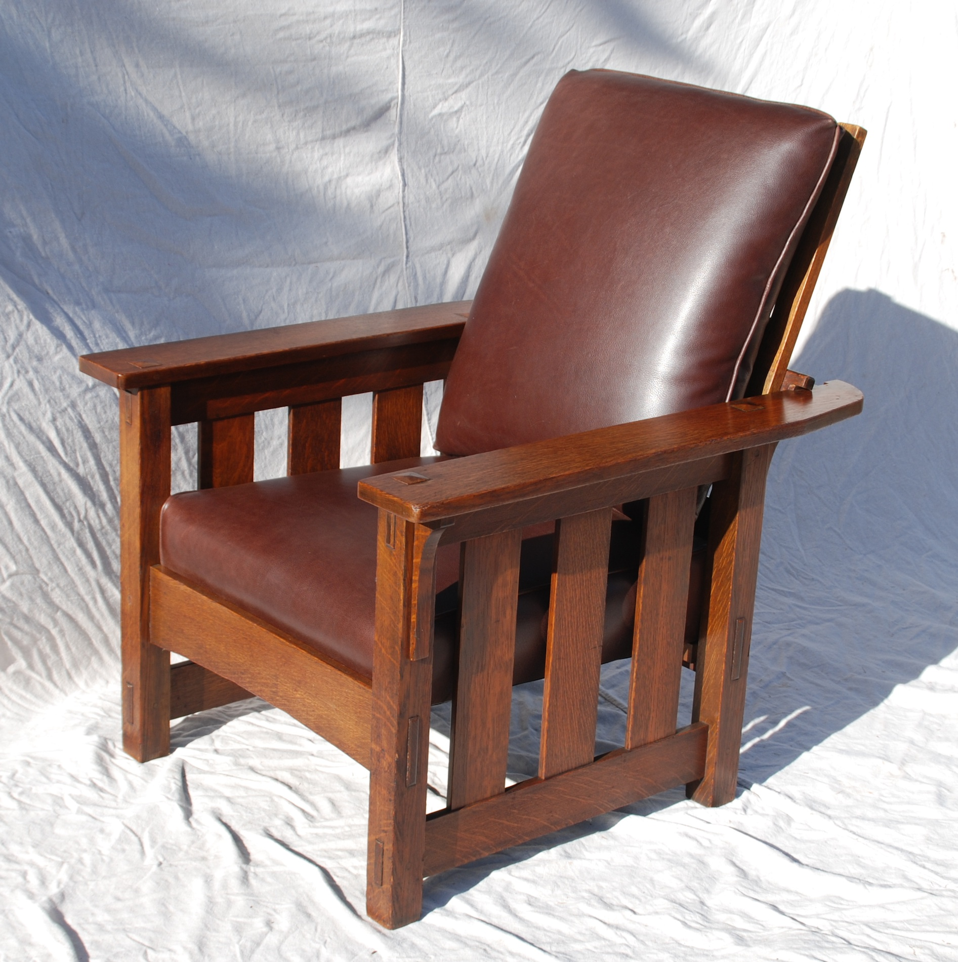 Superior Voorhees Craftsman Mission Oak Furniture   Lifetime Furniture Company , Grand  Rapids Bookcase And Chair Co. Morris Chair