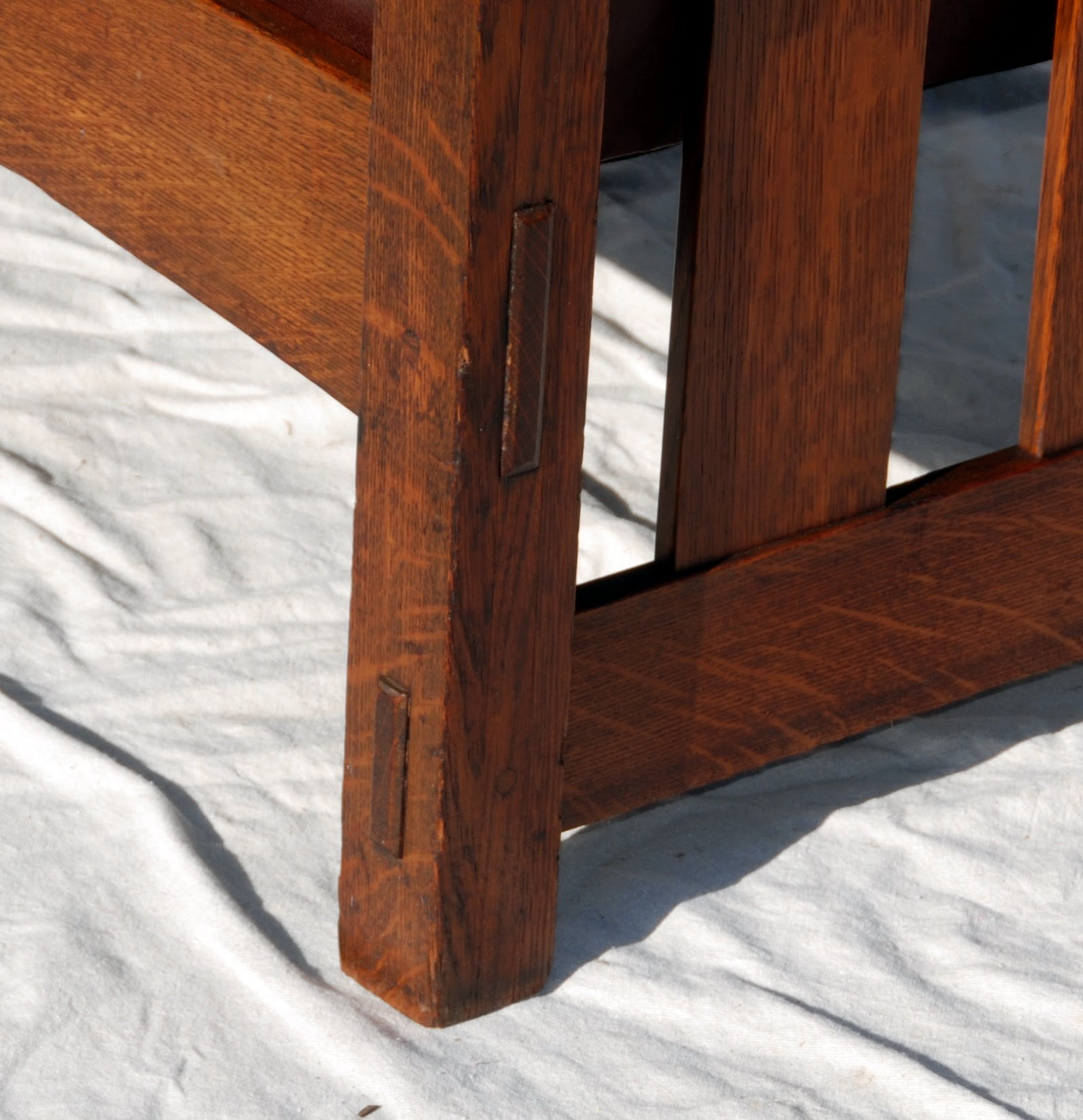Voorhees Craftsman Mission Oak Furniture Lifetime