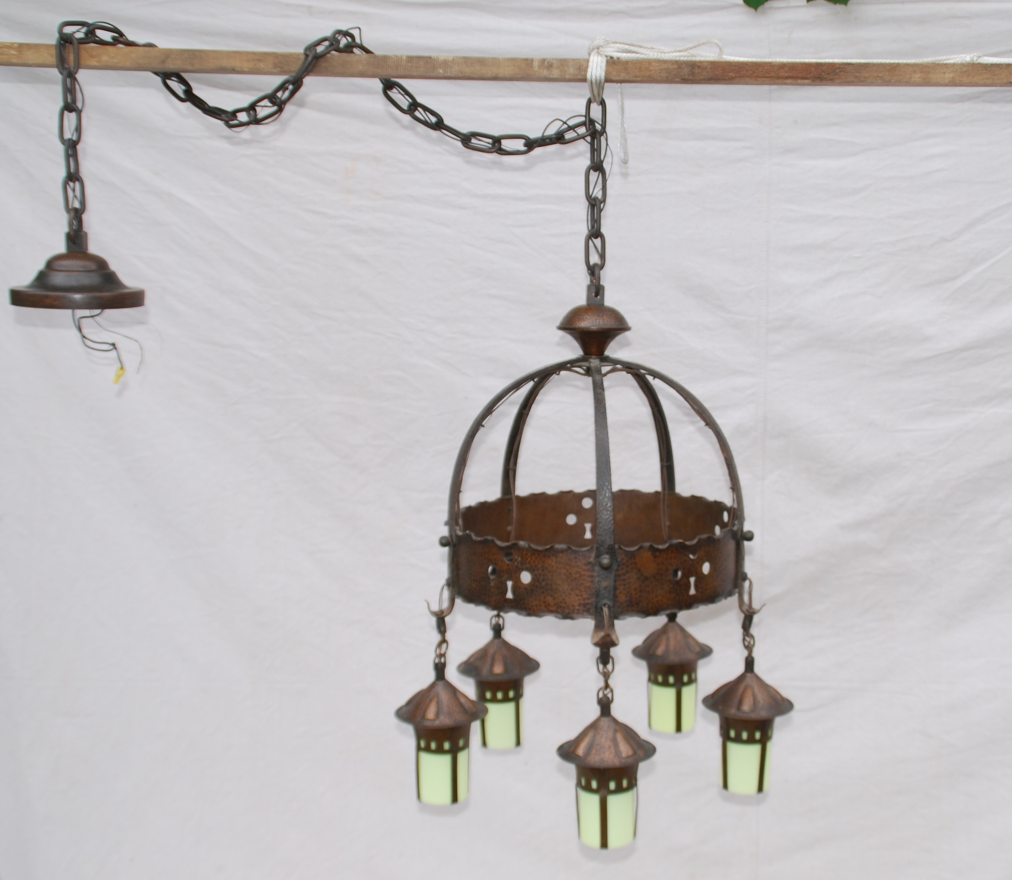 Voorhees Craftsman Mission Oak Furniture Rare Stickley era