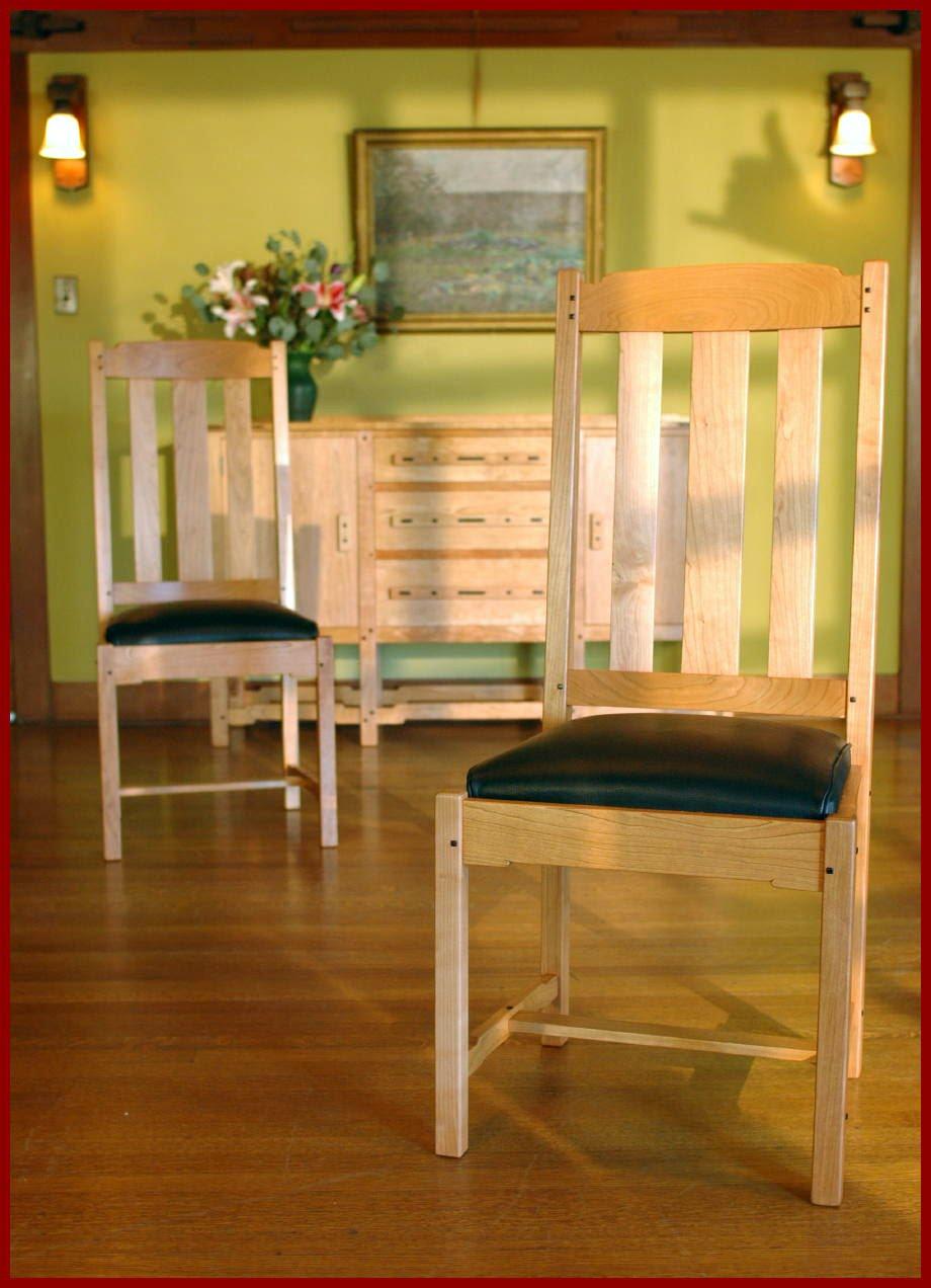 voorhees craftsman mission oak furniture greene and greene style