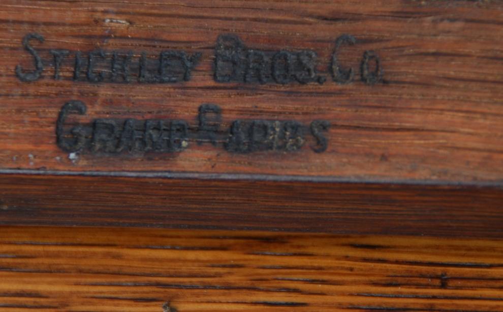 Voorhees Craftsman Mission Oak Furniture Pair Of