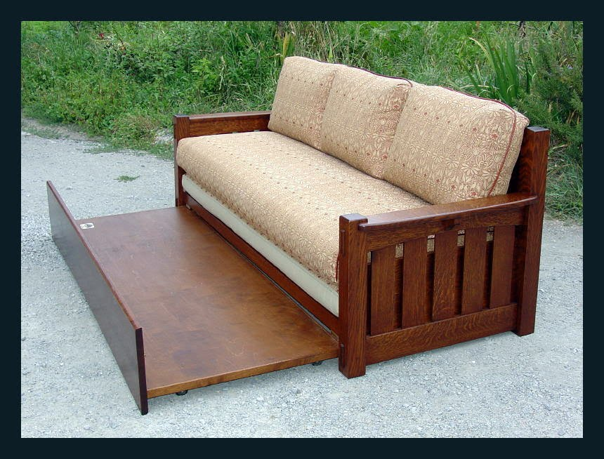 Mission Style Sofa Bed Antique Hide A Bed Sofa Empire