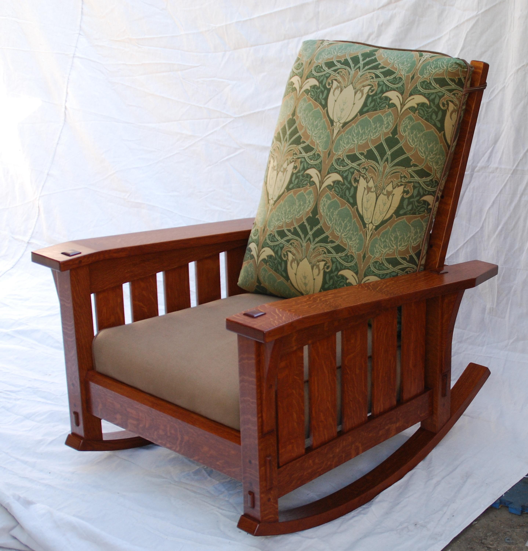 Super Voorhees Craftsman Mission Oak Furniture Morris Chairs Machost Co Dining Chair Design Ideas Machostcouk