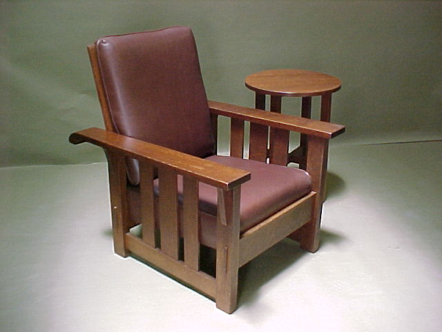 Stickley Brothers Reclining Morris Chair & Voorhees Craftsman Mission Oak Furniture - Stickley Brothers ... islam-shia.org