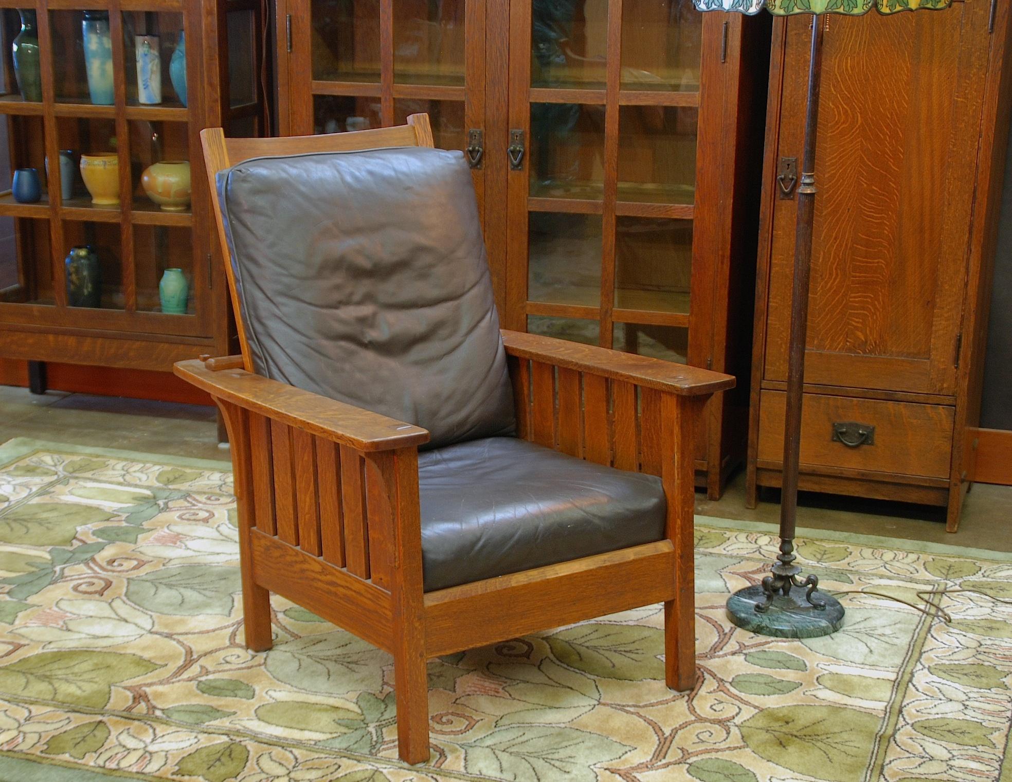 Voorhees Craftsman Mission Oak Furniture L J G Stickley