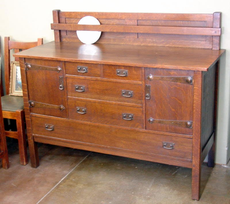 Voorhees Craftsman Mission Oak Furniture