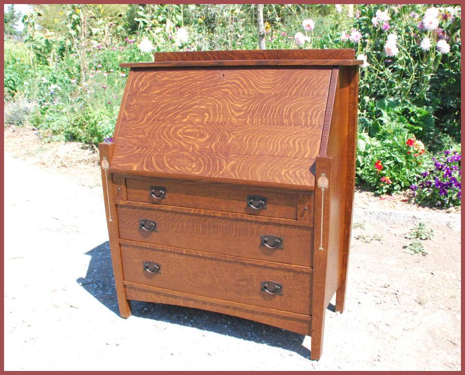 Custom Arts Crafts Oak Drop