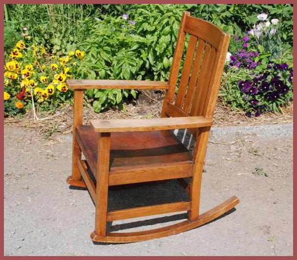 Superb Voorhees Craftsman Mission Oak Furniture Original L Creativecarmelina Interior Chair Design Creativecarmelinacom