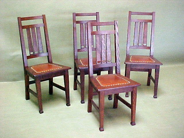 Charmant Set Of Six Crawford Chair Co. Dining Chairs.