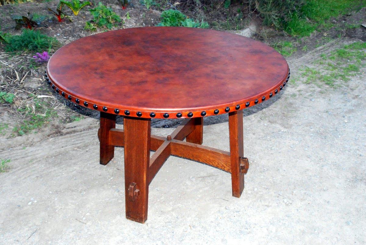 voorhees craftsman mission oak furniture accurate replica gustav