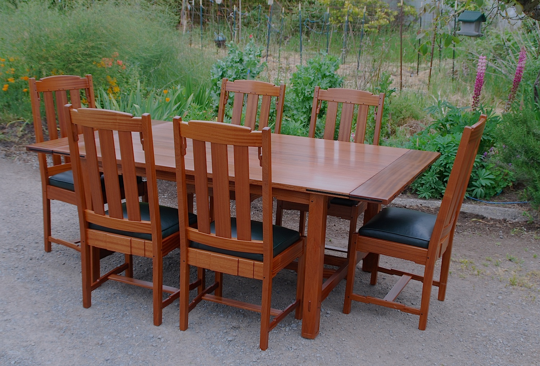 Good Greene U0026 Greene Style Custom Dining Table U0026 Chairs.