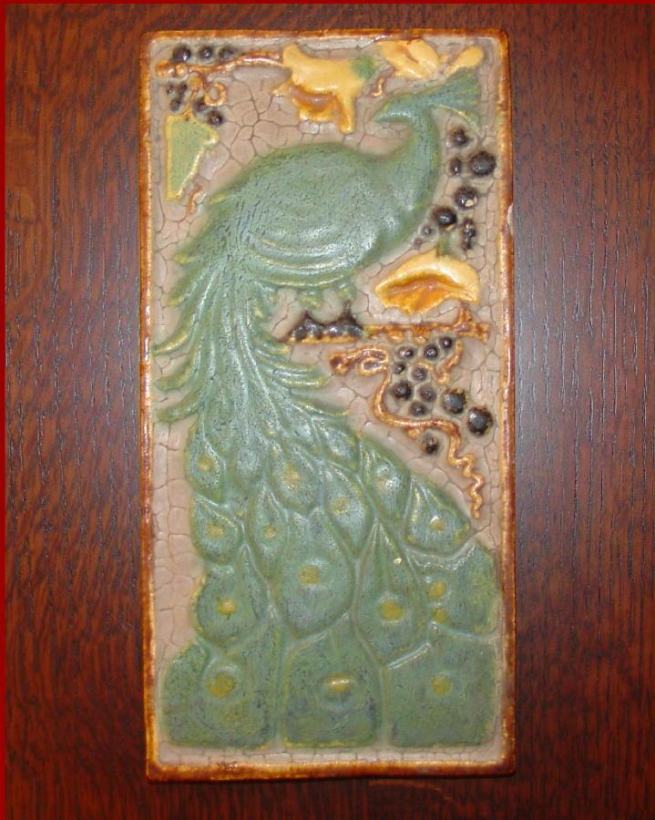 Voorhees craftsman mission oak furniture arts and crafts for Arts and crafts floor tile