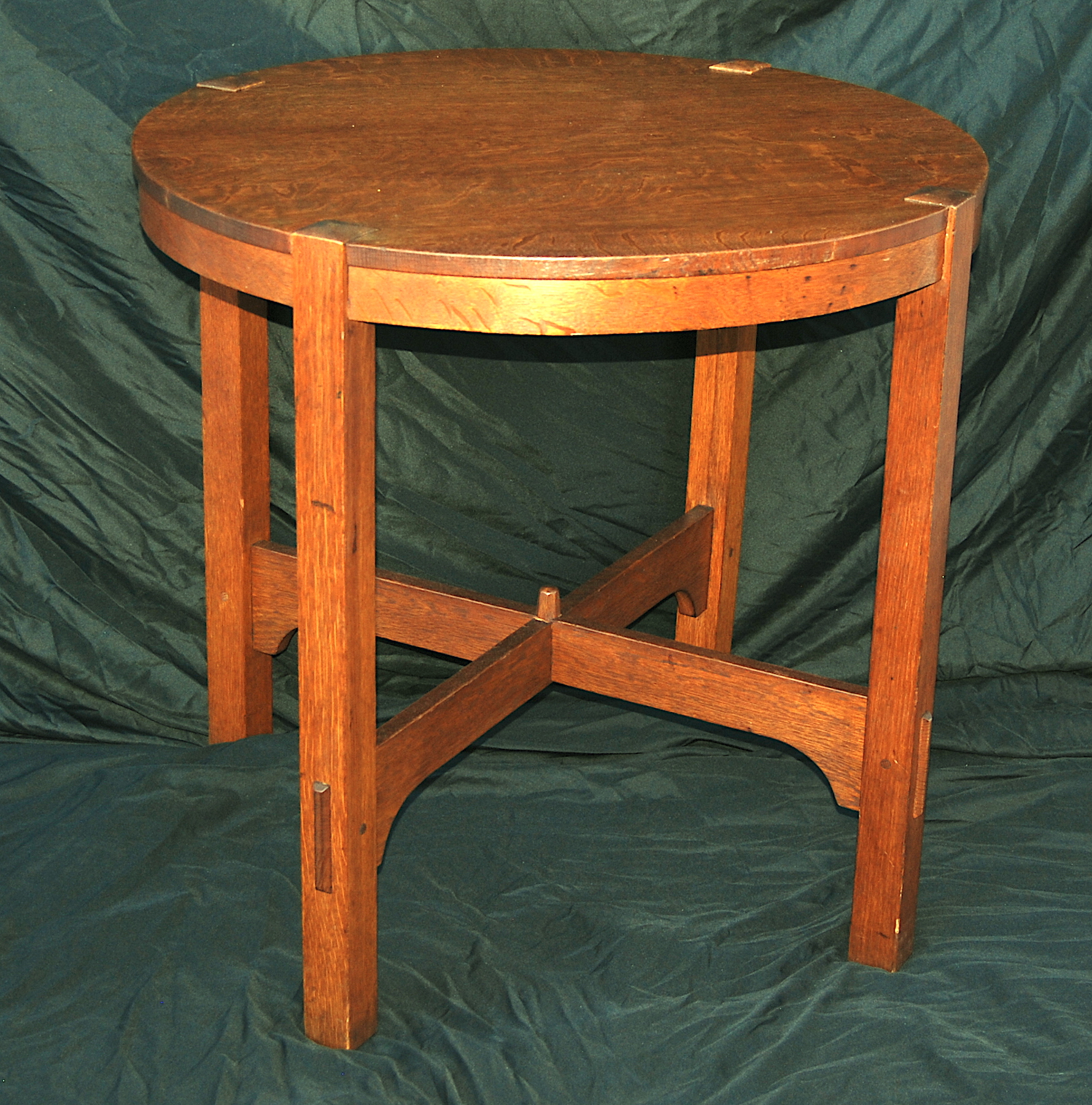 Voorhees craftsman mission oak furniture lamp tables original vintage gustav stickley lamp table aloadofball Gallery