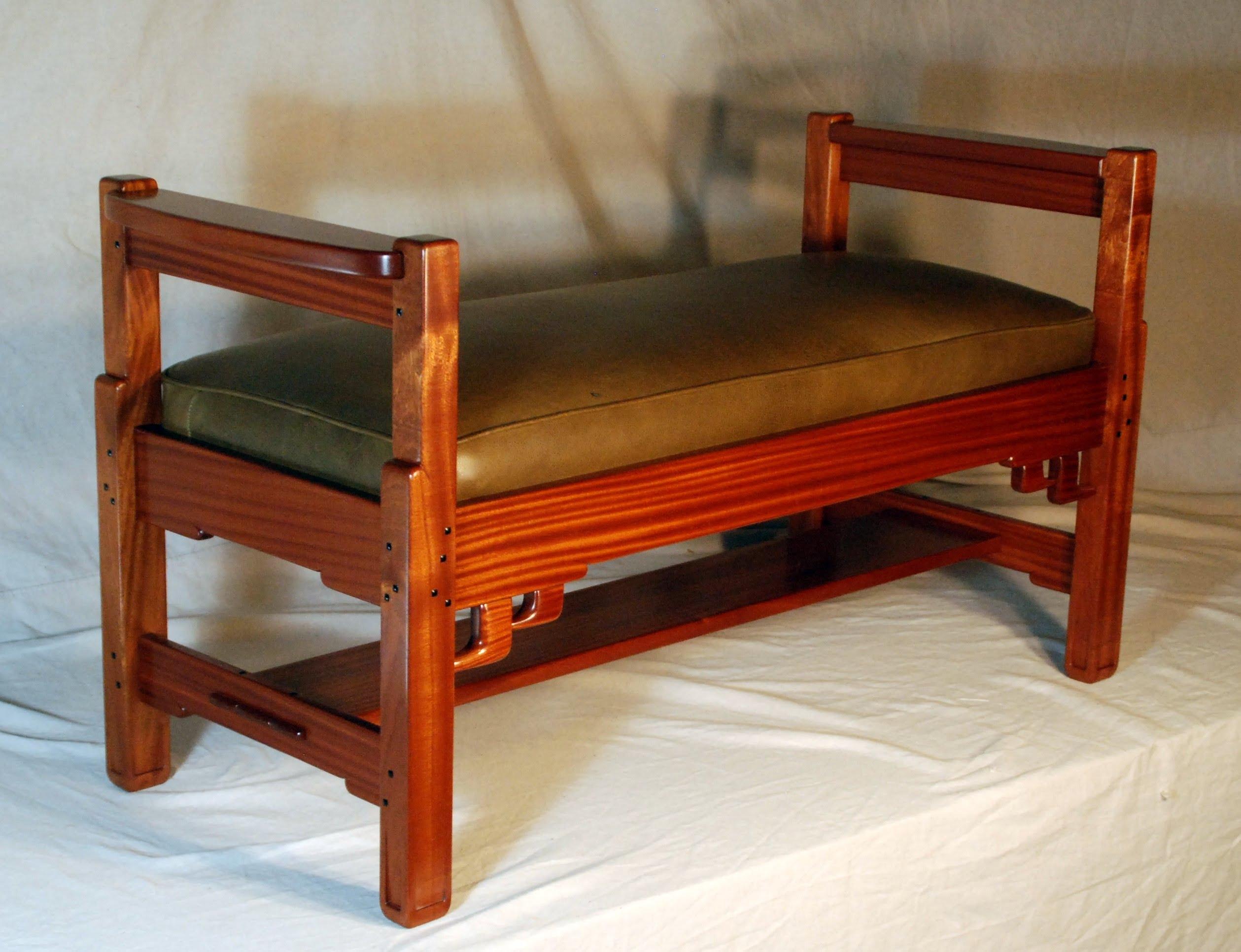 Voorhees Craftsman Mission Oak Furniture GREENE & GREENE STYLE