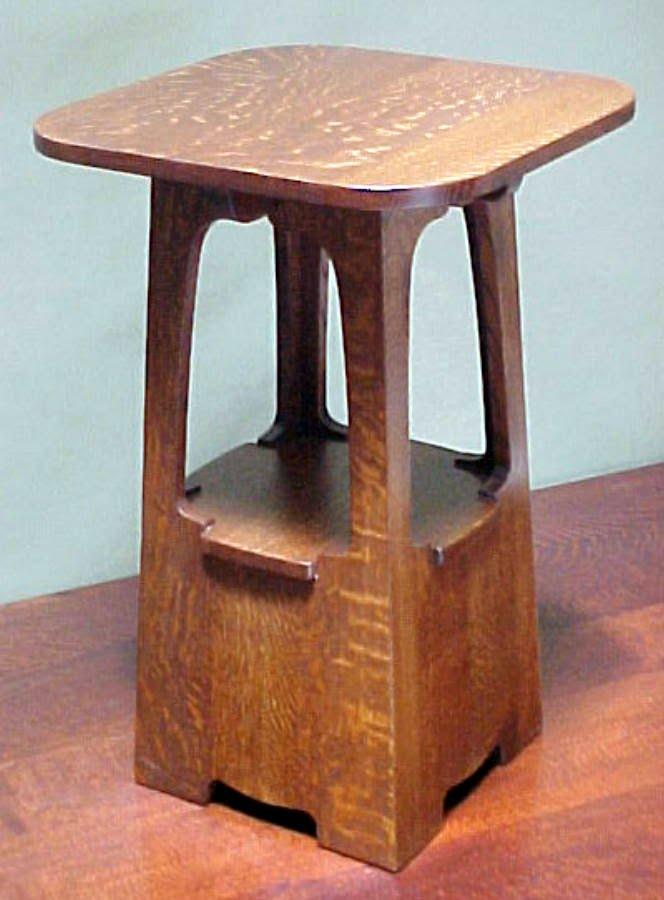Limbert Oak Table, Accurate Reproduction.
