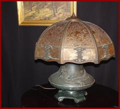 Additional image showing the lamp un-lit.