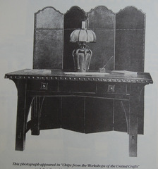 Image from the original Gustav Stickley catalogue.