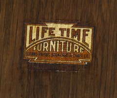 Lifetime signature decal, circa 1911.