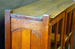 Detail exposed tenon construction.