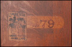 "Charles Limbert brand and stenciled model number...""no 79""."