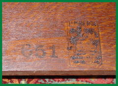 Limbert's branded signature and the stenciled model #651.