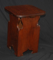 Rare early Limbert tabourette taboret drink stand model no. 235 DISCONTINUED