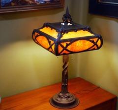 Voorhees Craftsman Mission Oak Furniture Lighting