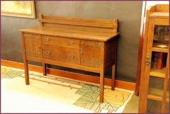 L.& J.G. Stickley Strap-Hinge Buffet Sideboard