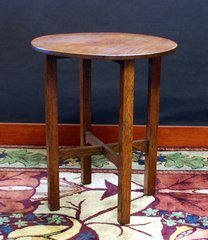 Original Gustav Stickley Lamp Table