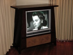 Roycroft Style Custom Television Cabinet