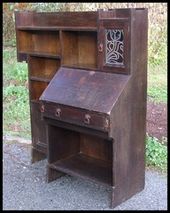 Liberty & Co. Combination Bookcase