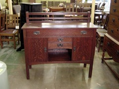 Gustav Stickley Vintage Buffet