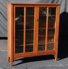 Stickley Brothers two door bookcase