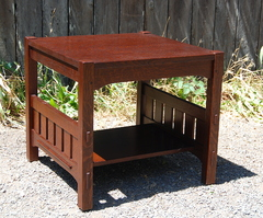 Voorhees Craftsman Workshops custom Harden style table