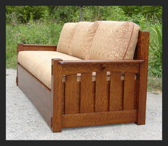 Voorhees Craftsman Mission Oak Furniture Beds
