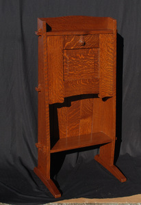 Accurate Replica Gustav Stickley Chalet Drop Front Desk