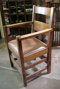Set of Six Stickley Brothers Dining Chairs