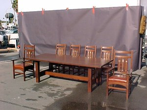 Gustav Stickley Inspired Dining and Conference Table