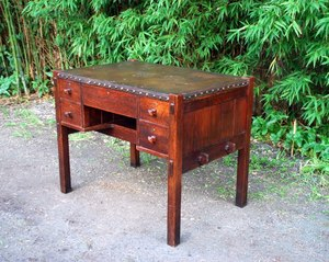 Early Gustav Stickley Writing Desk 1902