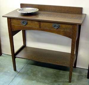 Original Gustav Stickley Harvey Ellis Server