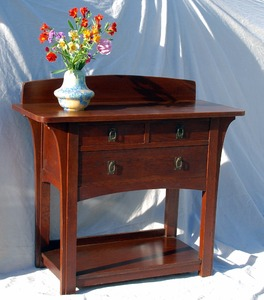 Rare Early Limbert Server Sideboard
